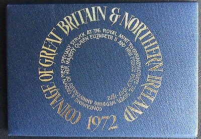 1972 Proof Set of The Coinage of Great Britain & Northern Ireland (Ref:17)