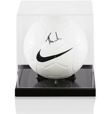 Tom Heaton Official England Signed Nike Football in Acrylic Case Autograph
