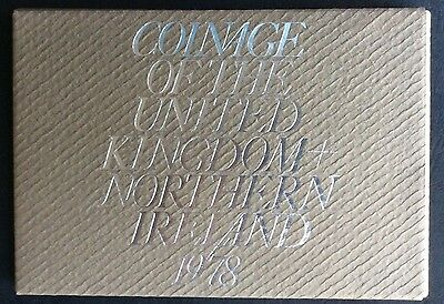 1978  Proof Set of The Coinage of Great Britain & Northern Ireland (Ref:8)