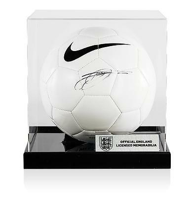 Jack Wilshere Official England Signed Nike Football In Acrylic Case