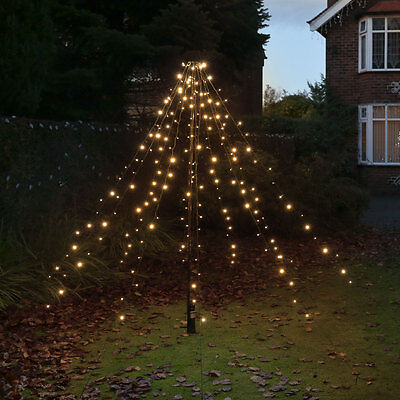 2M Fairy String Led Light Outdoor Battery Operated Garden Christmas Teepee Tree