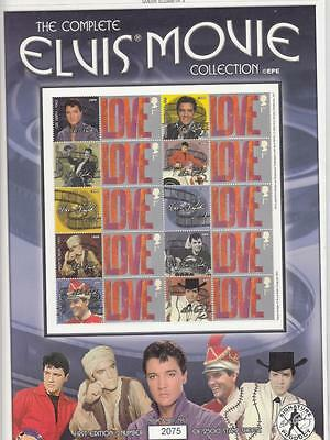 Gb - The Complete Elvis Presley Movie Collection Smilers Sheet Po Fresh