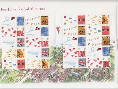 Gb -Royal Mail Smilers Generic Sheet For Lifes Special Moments Ls32