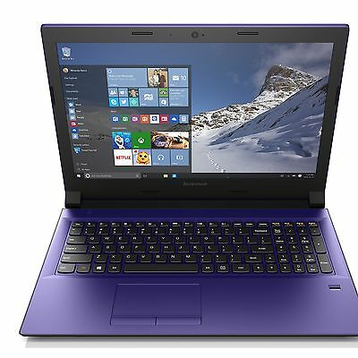 Lenovo 15.6 Inch Intel Ci3 2GHz 8GB 1TB Windows 10 Laptop - Purple :Argos