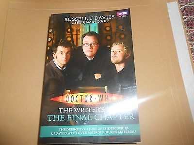 Dr Doctor Who - The Writer's Tale Final Chapter Russell T Davies Paperback Book