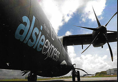 1 x ALSIE EXPRESS ATR72 AIRLINE ISSUE POSTCARD