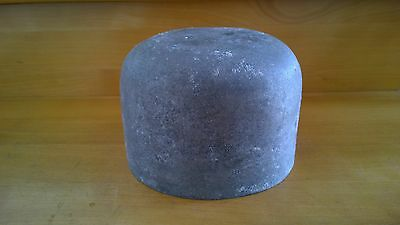 Hutform, Filzen, Hutmacher, Metallform, Millinery, Felting, Metal Hat Block