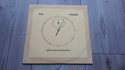 "Kort / Kitundu ‎– Eighteen July Two Thousand Four 10"" Experimental"