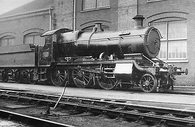 Photo GWR 43xx Class No 7312 seen here at Swindon works yard on 14/5/38