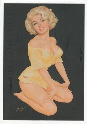 Cp Nu Sexy Erotique Pin-Up