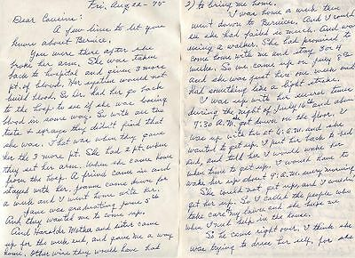 7 Page Personal Letter NEEL Family to Cousins HEFFELFINGER SNYDER Lexington Ohio