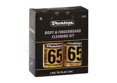 Dunlop System 65 Care Kits - Maintenance, Polish, Body & Fingerboard, Tech Kits