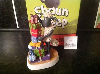 ROBERT HARROP SHAUN THE SHEEP Christmas present & correct SSCS15