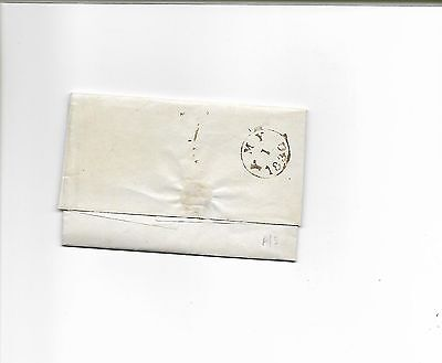 1830 Entire Letter from Grays Inn, London with single rim circular datestamp