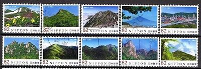 Japan: Terrific F/u Complete 2014 Issue #4 From ''mountains'' Series.