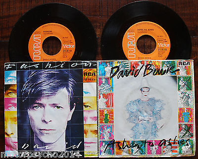 David Bowie - 2x 7'' Single - Ashes to Ashes, Fashion - RCA