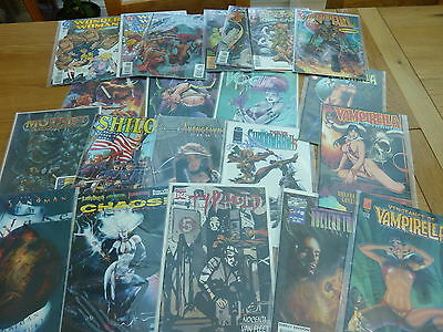 Collection Dc And Other Graphic Comics X 21 All In Plastic Bags