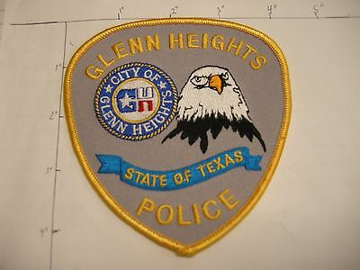 Glenn Heights Police Dept Ghpd Glen Hts Eagle City State Of Colorful Texas Patch