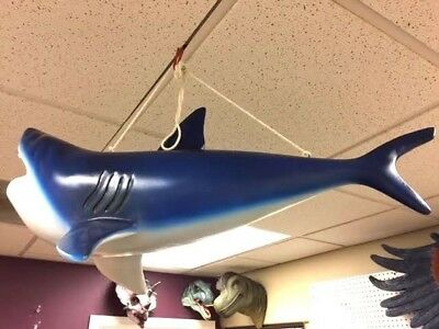 Great White Shark Fish Hanging 2 1/2 - LM Treasures