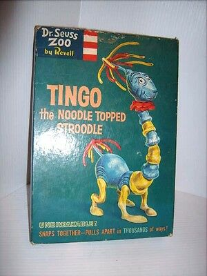 VINTAGE 1959 DR. SEUSS ZOO BY REVELL TINGO the NOODLE TOPPED STROODLE MODEL