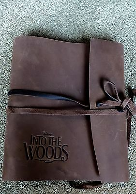 INTO THE WOODS LEATHER BOUND SCREENPLAY SCRIPT SIGNED JAMES LAPINE ORIGINAL fyi