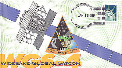 2012 WGS-4 Wideband Global SatComm Launch Cape Canaveral 19 January Mission 57