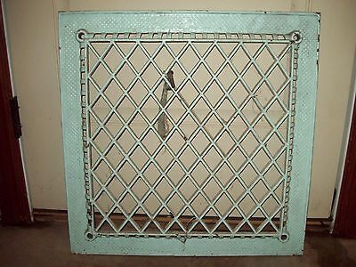 "Cast Iron Heating Grate 22.75"" X 22.75"""