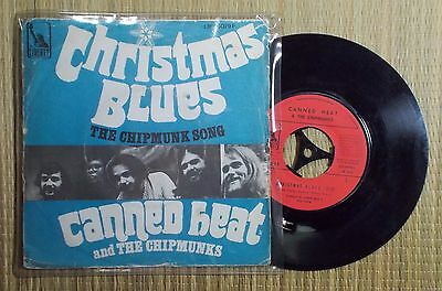 "Christmas Blues - Canned Heat and The Chipmunks (7"" p/s)"