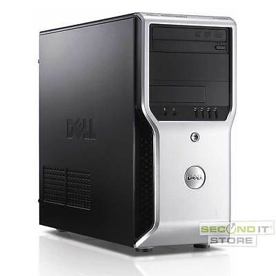 Dell Precision T1500 Workstation Quad Core i7 4x 2,8 GHz 8 GB RAM 500 GB HDD