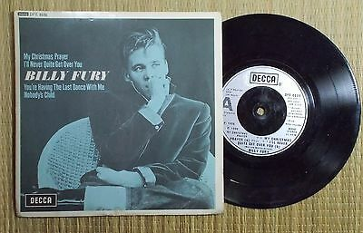 "My Christmas Prayer - Billy Fury (7"" e.p. in p/s)"