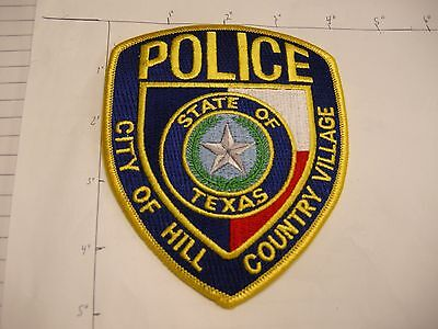 City Of Hill Country Village Police Dept Hcvpd Star  State Colorful Texas Patch