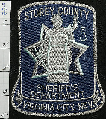 Nevada, Virginia City, Storey County Sheriff Vers 1 Patch