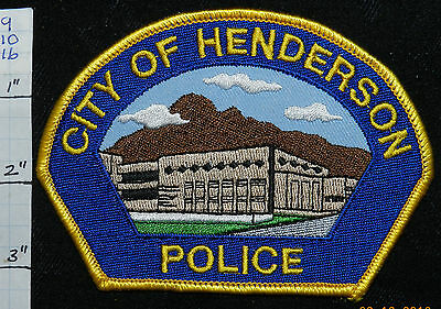 Nevada, Henderson Police Dept Patch