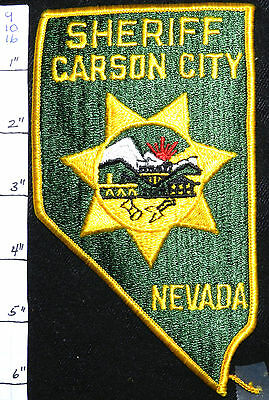 Nevada, Carson City Sheriff Patch