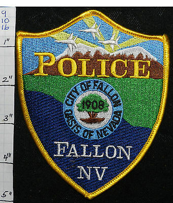 Nevada, Fallon Police Dept Vers 2  Patch