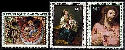 GABON Sc.# C64-66 Murillo Paintings Airmail Stamps