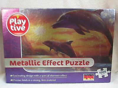 Metallic Effect - Dolphins - 1000 Pieces