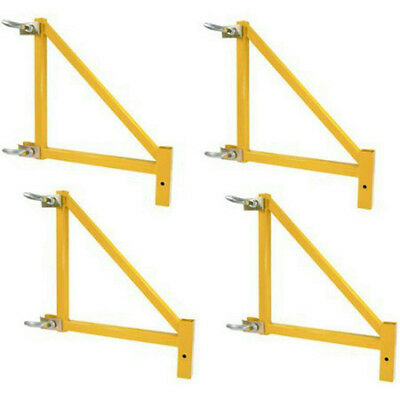 "Pro-Series 18"" Scaffolding Outriggers, 4-Piece Set in Yellow # GSORSET"