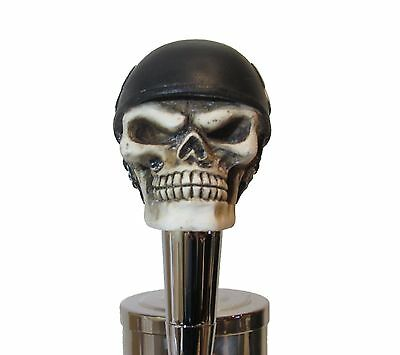 Biker Beer Tap Handle Sports Bar Kegerator Resin Zombie Breweriana Custom Harley