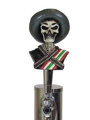 Zapata Sports Bar Beer Tap Handle Kegerator Resin Zombie Breweriana Bar Poncho