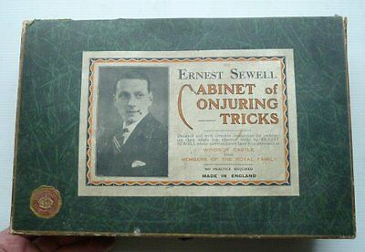 The Ernest Sewell Cabiney Of Conjuring Tricks