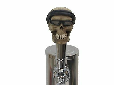 Bandana Biker Sports Bar Beer Tap Handle Kegerator Resin Zombie Breweriana Bar