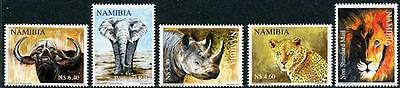 NAMIBIA Sc.# 1199-1203 The Big Five Mint NH Stamps