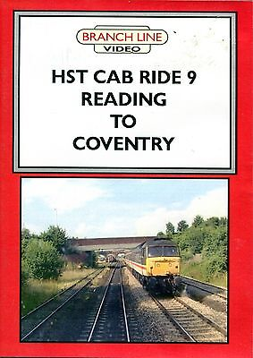 Hst Cab Ride No 9 -Reading To Coventry -2005 -Dvd