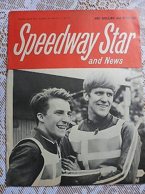 Speedway Star and News 29th November   1968