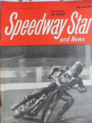 Speedway Star and News 8th October 1965