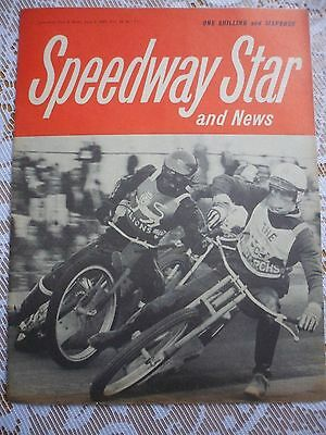 Speedway Star and News 6th June  1969