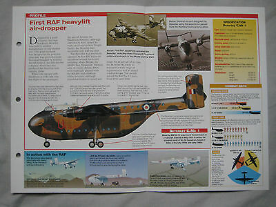 Aircraft of the World Card 110 , Group 4 - Blackburn Beverley