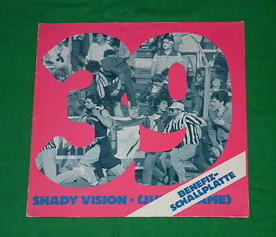 """SHADY VISION 39 (Just a Game) Heysel TECHNO ELECTRO ROCK INDUSTRIAL FOOTBALL 12"""""""