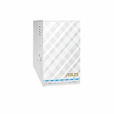 ASUS-ASUS RP-AC52 AC750 WHITE DIAMOND WLAN REPEATER-COMPUTER AND ZUBEHöR    NEU
